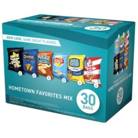 Frito-Lay Hometown Favorites Mix Chips and Snacks Variety Pack (30 ct.)