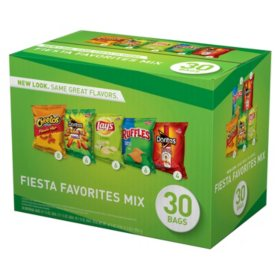 OFFLINE-Frito-Lay Fiesta Mix Chips and Snacks Variety Pack