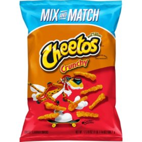 Cheetos Crunchy Cheese Flavored Snacks (17.875 oz.)