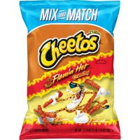 Cheetos Crunchy Flamin' Hot Cheese Flavored Snacks (17.875 oz.)