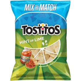 Tostitos Hint of Lime Tortilla Chips (17.5 oz.)