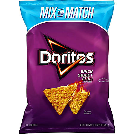 Doritos Spicy Sweet Chili Tortilla Chips (18.875 oz.)