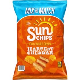 SunChips Harvest Cheddar Multigrain Snacks (13 oz.)