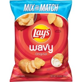Lay's Wavy Potato Chips (15.875 oz.)
