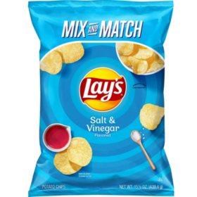 Lay's Salt and Vinegar Potato Chips (15.5 oz.)