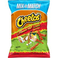 Cheetos Crunchy Flamin' Hot Limon Cheese Flavored Snacks (17.875 oz.)