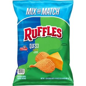 Ruffles Queso Potato Chips (16.125 oz.)