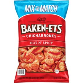 Baken-Ets Hot 'n Spicy Chicharrones (6.75 oz.)