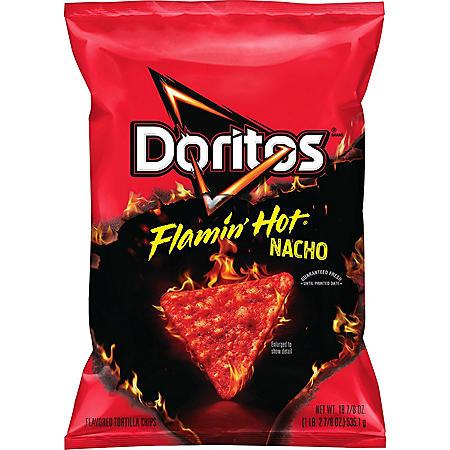 Doritos Flamin' Hot Nacho Cheese Tortilla Chips (18.875 oz.)