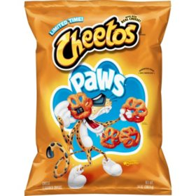 Cheetos Paws Cheese Flavored Snacks (14oz)