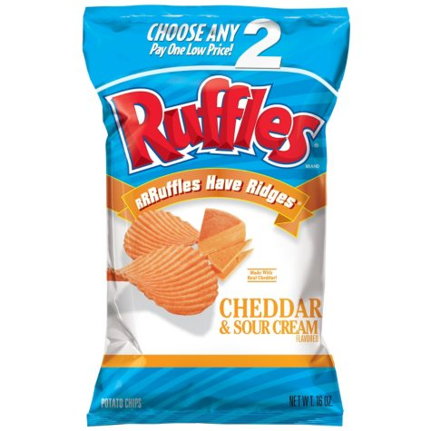 Ruffles Cheddar Sour Cream (14.25 oz.)