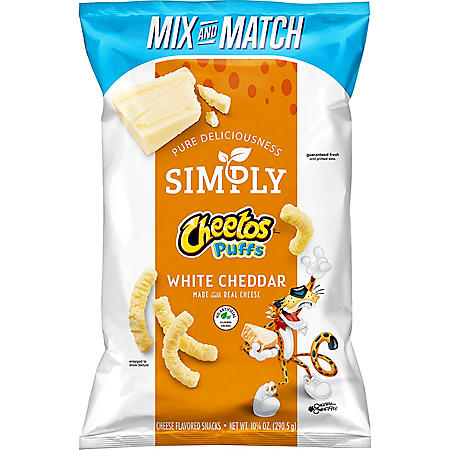 Simply Cheetos Puffs White Cheddar (10.25 oz)