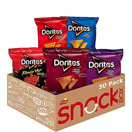 Doritos Mix Variety Pack Tortilla Chips (52.5oz., 30ct.)