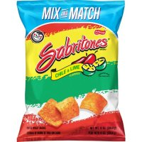 Sabritones Chile & Lime Flavored Puffed Wheat Snacks (8 oz.)