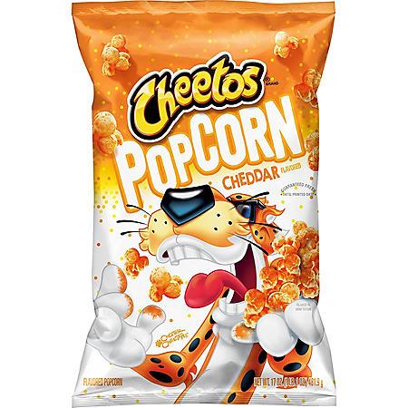 Cheetos Cheddar Flavored Popcorn (17oz)