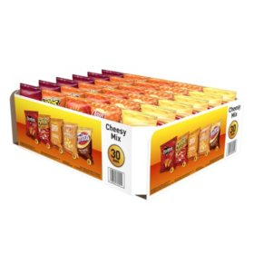 Frito-Lay Cheesy Mix Variety Pack (30pk)
