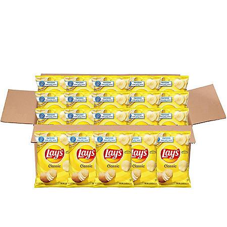 Lay's Classic Potato Chips (2 75 oz  ea , 20 ct ) - Sam's Club
