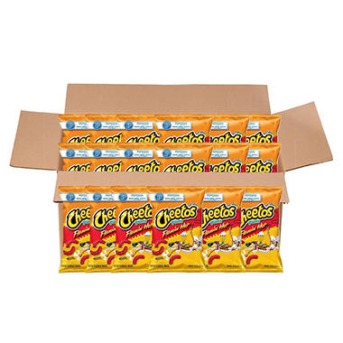 Cheetos Flamin' Hot Puffs Cheese Snacks (3.38 oz. ea., 20 ct.)