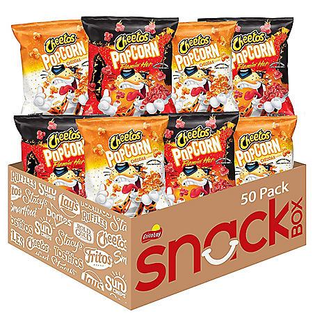 Cheetos Popcorn Variety Pack (0.63 oz., 50 pk.)
