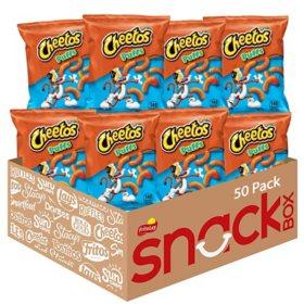 Cheetos Puffs Cheese Flavored Snacks (50 pk.)