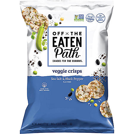 Off the Eaten Path Veggie Crisps Sea Salt & Black Pepper (19 oz.)