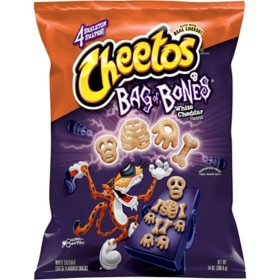 Cheetos Bag of Bones White Cheddar Flavored Cheese Snacks (14 oz)