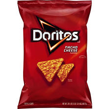 Doritos Nacho Cheese Flavored Tortilla Chips (28.5 oz.)