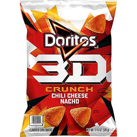 Doritos 3D Crunch Chili Cheese Nacho (11.5 oz.)