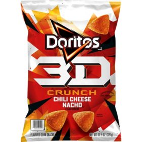 Doritos 3D Crunch Chili Cheese Nacho (11.5 oz.)