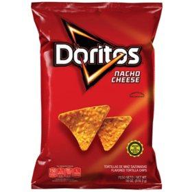 Doritos Nacho Cheese Tortilla Chips (17 oz.)