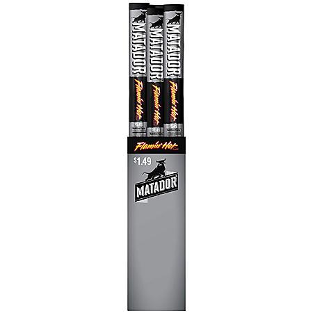 Matador Flamin' Hot Beef Jerky Snack Sticks (1 oz., 15 ct.)