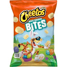 Cheetos White Cheddar Bites Cheese Flavored Snacks (14 oz.)
