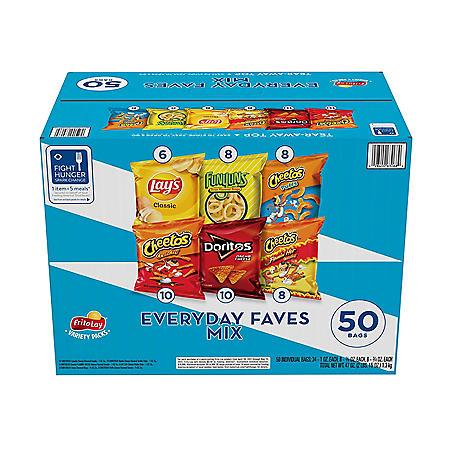 Frito-Lay Everyday Faves Mix Variety Pack (50 ct.)