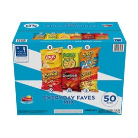 Frito-Lay Everyday Faves Mix Variety Pack (50 ct.)
