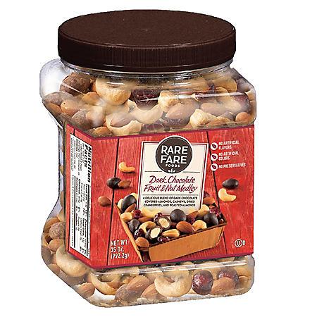 Rare Fare Foods Dark Chocolate Fruit & Nut Medley (35 oz.)