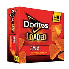 Doritos Loaded Nacho Cheese Breaded Cheese Snacks (45 oz.)