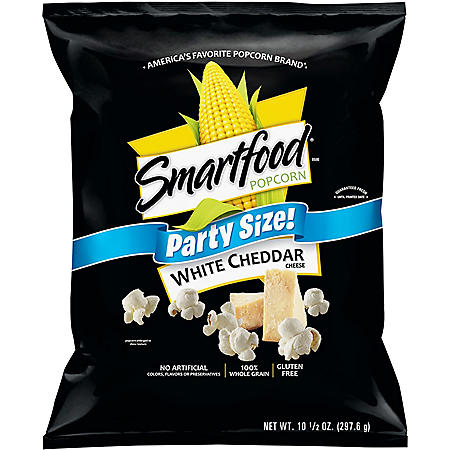 Smartfood White Cheddar Popcorn Party Size (9.75 oz.)