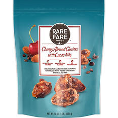 Rare Fare Foods Cherry Almond Clusters with Cacao Nibs Fruit & Nut Mix (16 oz.)