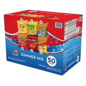 Frito-Lay Summer Mix Variety Pack (50 ct.)