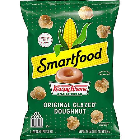 Smartfood Krispy Kreme Original Glazed Donut Flavored Popcorn (18 oz.)