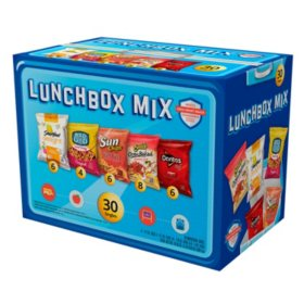 Frito Lay Lunchbox Mix Chips and Smart Snacks Variety Pack