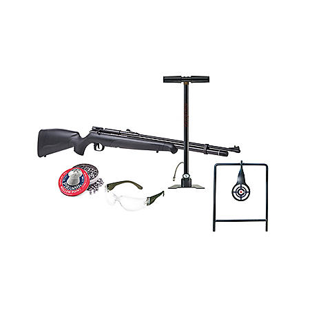 Benjamin Maximus  22 Caliber PCP Powered Air Rifle Kit with Hand Pump and  Accessories