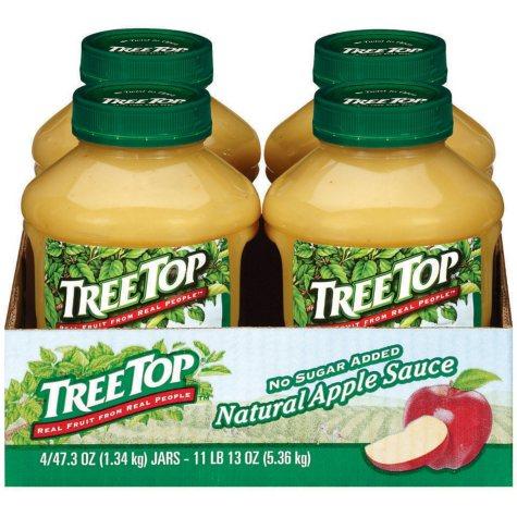 Tree Top Apple Sauce - 4/47.3 oz.
