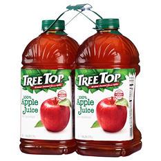 Tree Top 100% Apple Juice (1 gallon ea., 2 pk.)