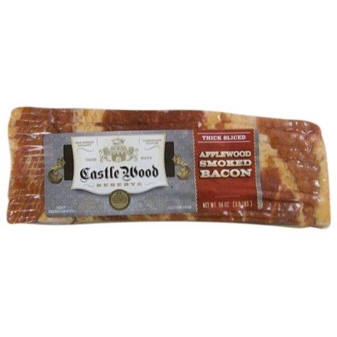 Castle Wood Applewood Smoked Bacon - 3.5 lbs.