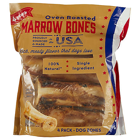 Oven Roasted Marrow Bones - 4 pk.