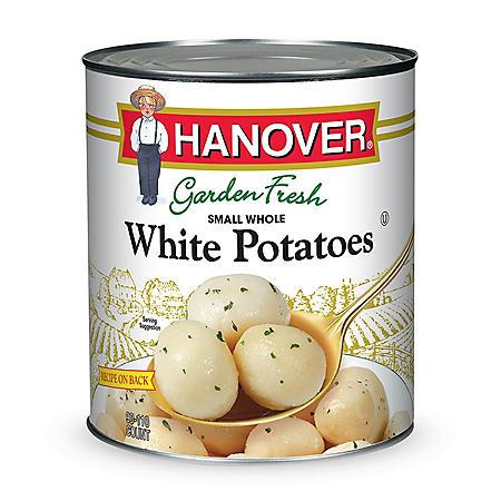 Hanover Small Whole White Potatoes (110 oz.)
