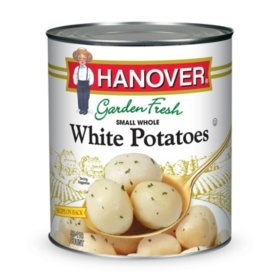 Hanover Small Whole White Potatoes (110 oz.)