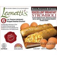 Leonetti's Individually Wrapped Breakfast Stromboli, Frozen (6 ct.)