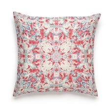 Amy Sia Painterly Kaleidoscope Square Decorative Pillow